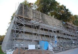 """Стены бастиона """"Виктория"""" в Нарве отреставрирует фирма Rito Ehitus"""