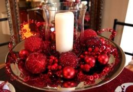 Украшению новогоднего стола – особое внимание