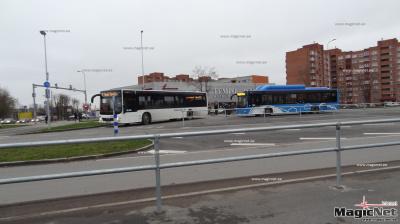 В Нарве благодаря бдительному пассажиру полиция задержала пьяного водителя автобуса