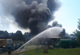 Пожар в промышленной зоне в Маарду ликвидирован
