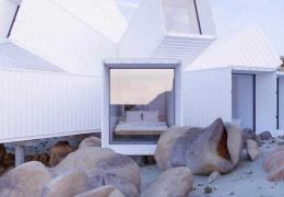 Архитектор спроектировал дом, основной деталью которого будут грузовые контейнеры
