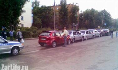 6 машин попали в ДТП на свадьбе (5 фото+видео)