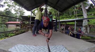 Полет над водопадами