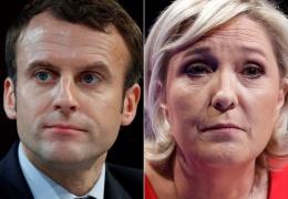 Предварительные данные: Макрон и Ле Пен выходят во второй тур президентских выборов во Франции