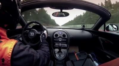 Bugatti Grand Sport Vitesse - Новый рекорд скорости 2013