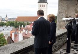 Сегодня в Эстонию с визитом прибывает канцлер Германии Ангела Меркель