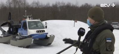 В Нарве и Причудье рыбаков на льду будут спасать с помощью гидрокоптера за 170 000 евро
