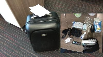 Чемодан, автомагнитола и смартфон: в Нарвском отделении полиции потерянные вещи ждут хозяев