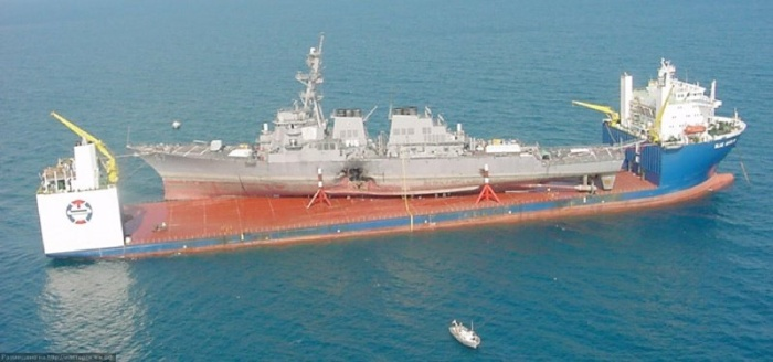 Самый большой в мире корабль-док