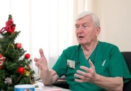 От коронавируса скончался завотделением Нарвской больницы Александр Чернёнок