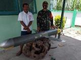 Индонезийский рыбак поймал подводный дрон ВМС Китая