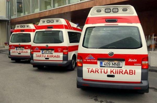Ида-Вирумаа получит дополнительную бригаду скорой помощи