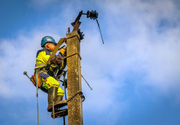 Шторм в Эстонии: без света остаются еще 3700 домохозяйств
