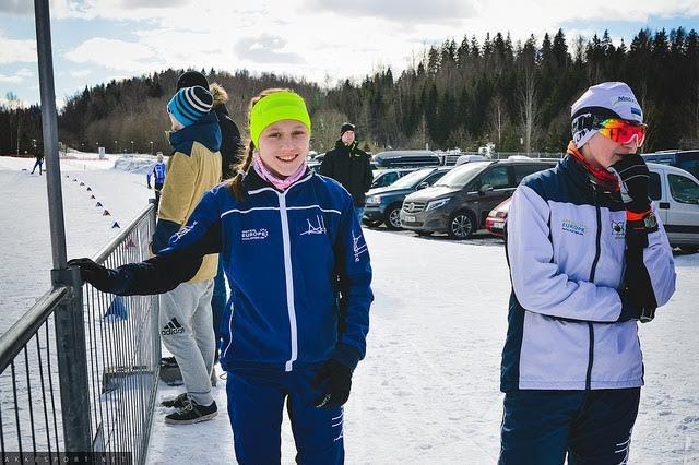 Нарвитяне в составе молодёжной сборной Эстонии по биатлону