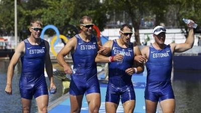 Эстонские гребцы завоевали бронзу на Олимпиаде в Рио
