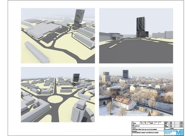 В центре города построят 20-этажное здание?