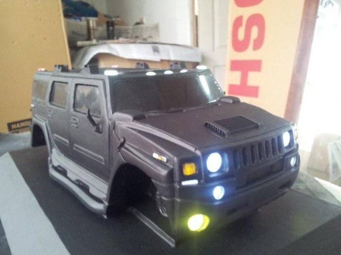 Удивительные модельки Hummer своими руками