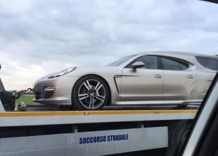 Катафалк на базе Porsche Panamera