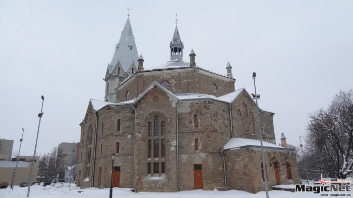 Студенческие проекты: в здании Александровской церкви в Нарве нужно соорудить концертный зал