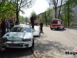 Narva RallySprint 2013 - Авария