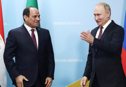 """Перед саммитом """"Россия-Африка"""" Путин встретился с ас-Сиси"""