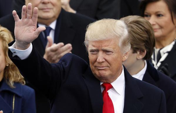 Дональд Трамп официально стал 45-м президентом США