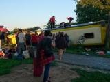 Пассажиры попавшего в ДТП в Белоруссии рейсового автобуса из Киева доставлены в Таллинн
