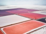 Снимки с вертолета: Соляные поля Австралии и Северной Америки