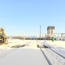 Рекордное количество снега в Ида-Вирумаа создает помехи в работе крупных предприятий
