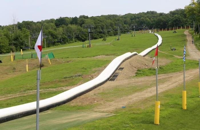 Самая длинная водная горка в мире
