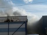 На складе в Тарту произошел крупный пожар, ядовитый дым распространялся на жилые районы