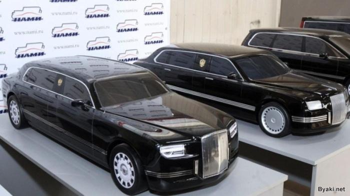 Представительный автомобиль к выборам президента РФ в 2018 году