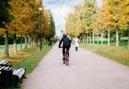 В этом году на треть увеличилось число пострадавших в ДТП велосипедистов