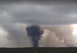 Взрывы в Красноярском крае сравнили с атомной бомбой и фейерверком