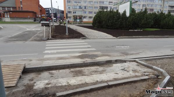 Власти Нарвы объяснили жителям, зачем обновляют пешеходные переходы