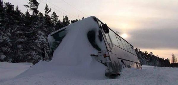 В Эстонии попал в ДТП автобус с латвийскими туристами