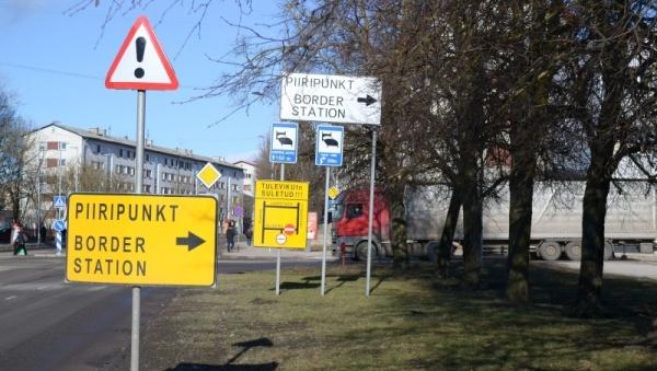 Площадка для транзитного транспорта в Нарве продолжит работать