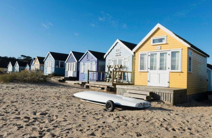 В Великобритании продана самая дорогая пляжная хижина