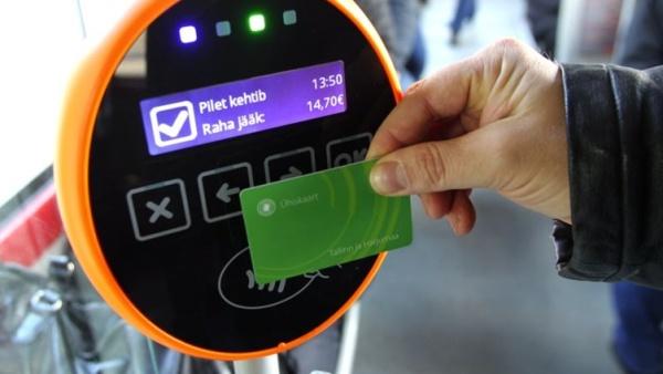 С февраля в Нарве вводится система электронного билета на проезд в общественном транспорте