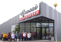 Олег Гросс открыл первый магазин в Нарве