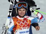 Горнолыжница Анна Феннингер принесла Австрии второе золото сочинских Игр