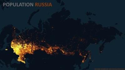 Эти карты показывают правду о плотности населения Земли