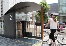 ECO Cycle — автоматизированный подземный паркинг для велосипедов в Японии
