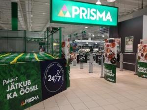 Перед рождеством все гипермаркеты Prisma будут работать круглосуточно
