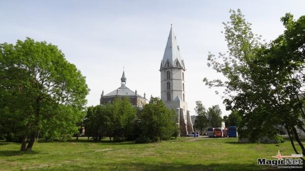Министерство культуры предложило возможные варианты эксплуатации Нарвской Александровской лютеранской церкви