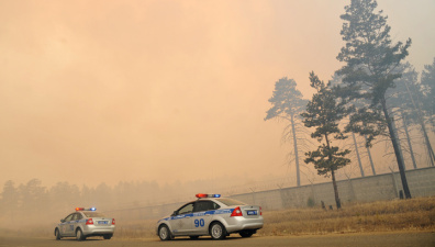 Пожар в воинской части в Забайкальском крае полностью потушен