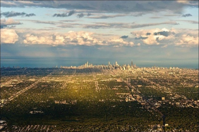 Города мира с высоты птичьего полета