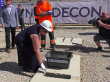 в Нарве заложили краеугольный камень здания колледжа Академии МВД