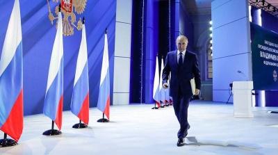 Тем, кто пересечет красную черту, Россия ответит асимметрично, быстро и жестко, заявил Путин