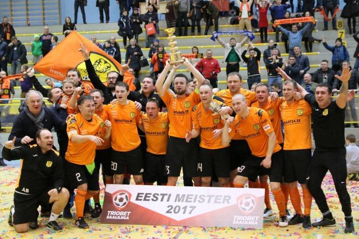 Narva United отправляется в Боснию и Герцеговину на матчи кубка УЕФА по футзалу